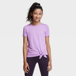 Girls' Short Sleeve Side-Tie Studio T-Shirt - All in Motion™