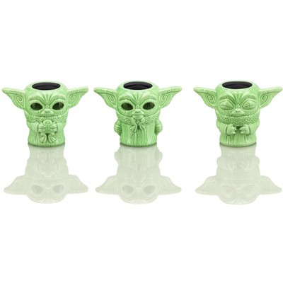 Geeki Tikis Star Wars Mandalorian The Child 2.5oz Mini Muglets Set of 3