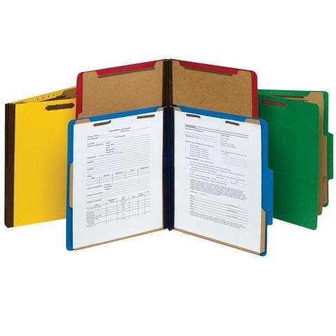 Pendaflex Pressboard Classification Letter Size Folders, Yellow, pk of 10 - image 1 of 2