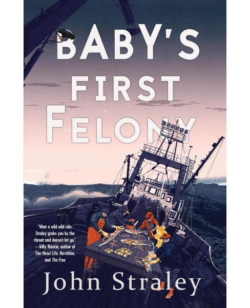 Baby's First Felony -  (Cecil Younger Investigation) by John Straley (Hardcover) - image 1 of 1