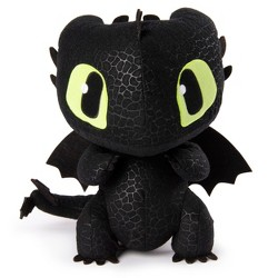 "DreamWorks Dragons, Squeeze & Growl Toothless, 10"" Plush Dragon with Sounds"