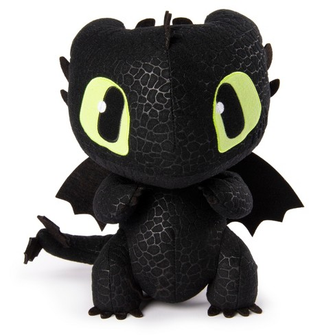 Dreamworks Dragons Squeeze Growl Toothless 10 Plush Dragon With