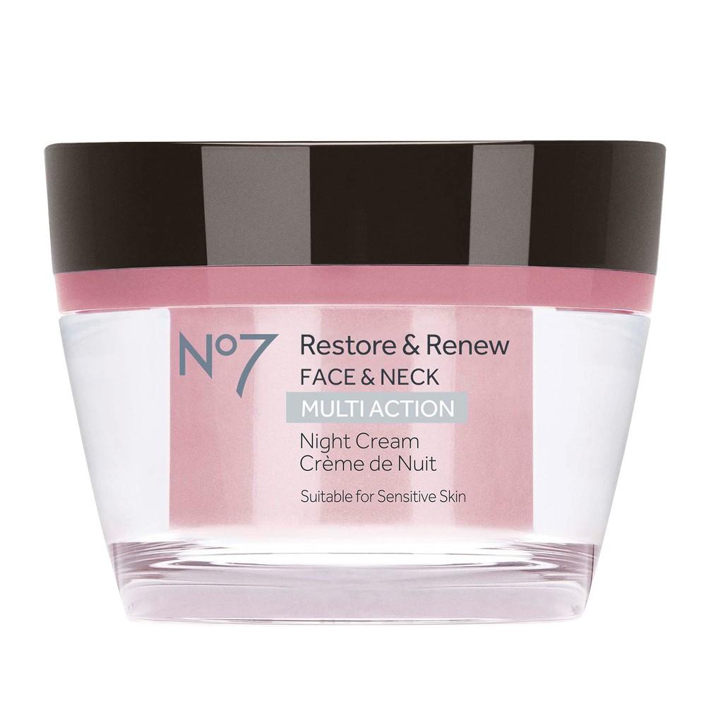 EAN 5000167244885 product image for No7 Restore & Renew Multi Action Night Cream - 1.69oz | upcitemdb.com