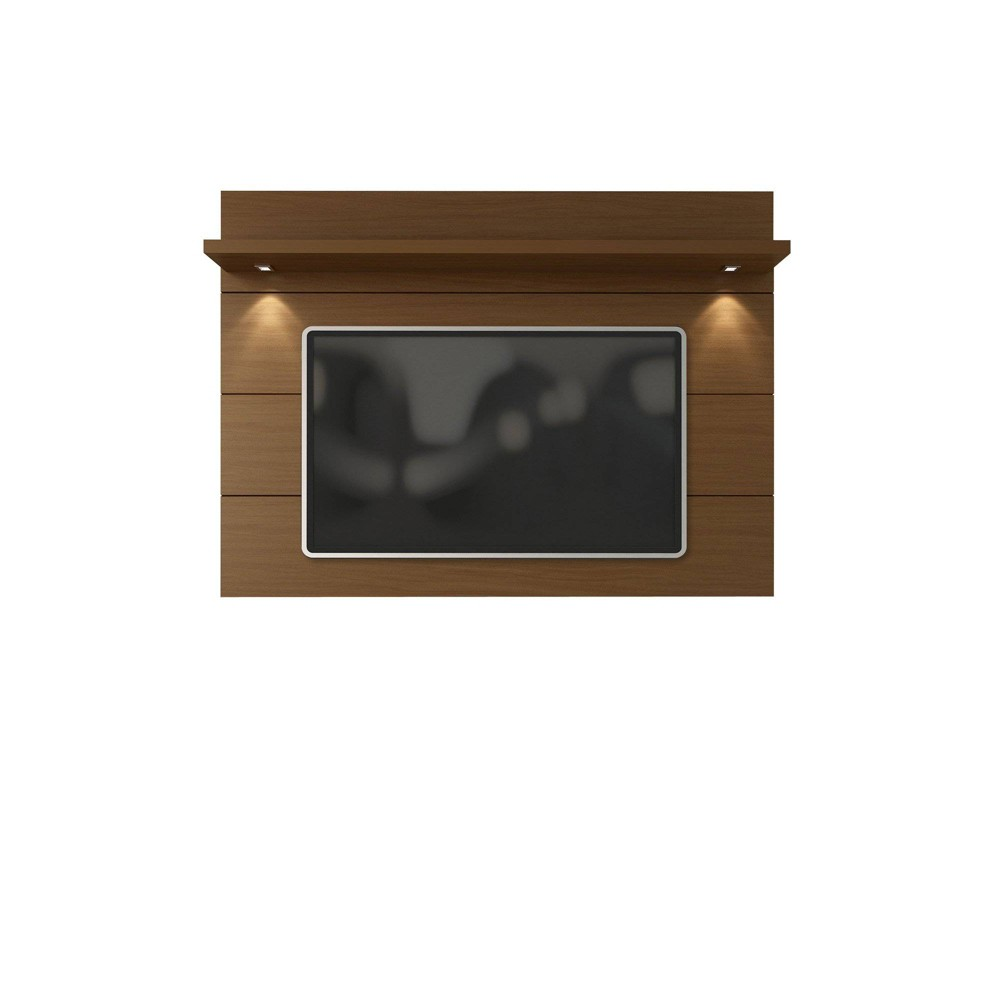 Cabrini Floating Wall TV Panel 1.8 Nut Brown - Manhattan Comfort