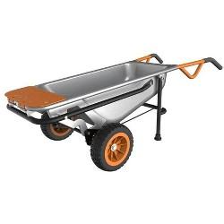 WORX WG050 Aerocart 8-In-1 Multifunction Wheelbarrow Dolly Cart Garden Carrier