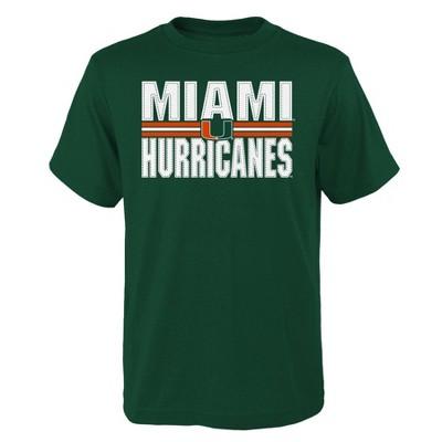 NCAA Miami Hurricanes Boys' Short Sleeve Core T-Shirt