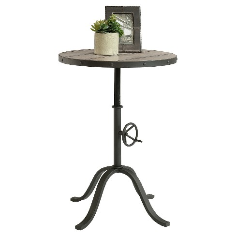 Barrister Lane Pedestal End Table - Rosewood - Sauder - image 1 of 1