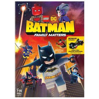 Lego Dc: Batman: Family Matters (DVD)