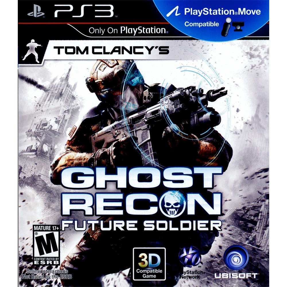 Tom Clancy's Ghost Recon: Future Soldier Pre-Owned PlayStation 3