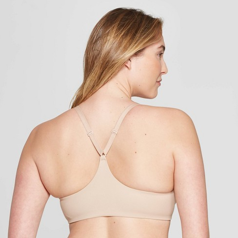 ae063bb672f6f Women s Ace Lightly Lined Demi Racerback Bra - Auden™ Pearl Tan 38DDD    Target