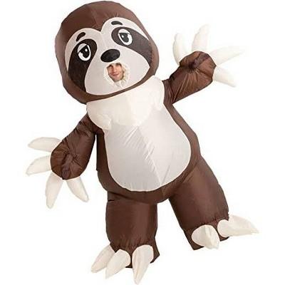 Adult Sloth Inflatable Halloween Costume One Size