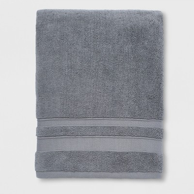 Performance Bath Towel Dark Gray - Threshold™