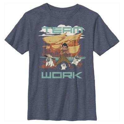 Boy's Raya and the Last Dragon Boun Team Work T-Shirt
