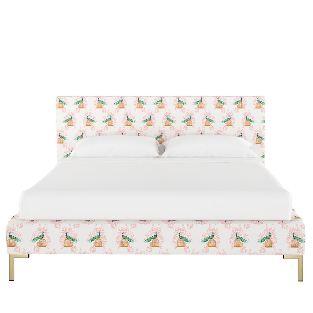 Platform Bed Full Peacock Blush - Opalhouse