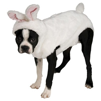 Rubie's Bunny Dog and Cat Costume - White