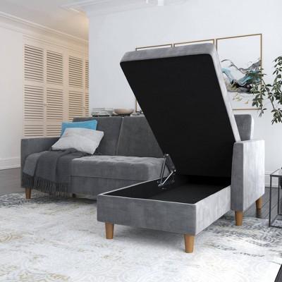 Prato Storage Sectional Futon - Room & Joy : Target