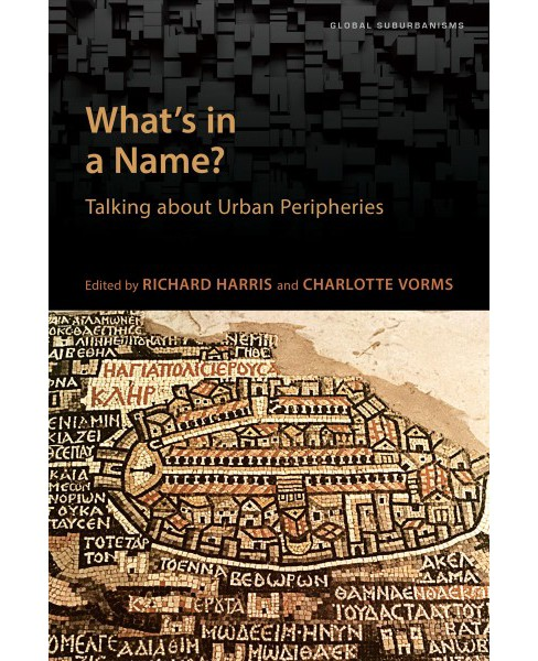What's in a Name? : Talking About Urban Peripheries (Paperback) - image 1 of 1