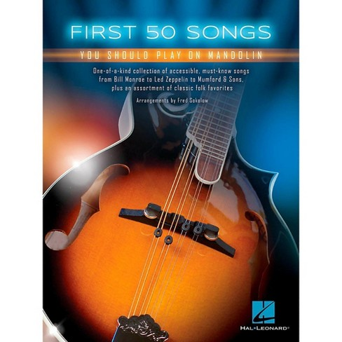 Hal Leonard First 50 Songs You Should Play on Mandolin - image 1 of 1
