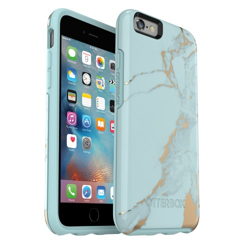 premium selection f2ce1 4df15 OtterBox Apple iPhone 6/6s Symmetry Case - Teal Marble