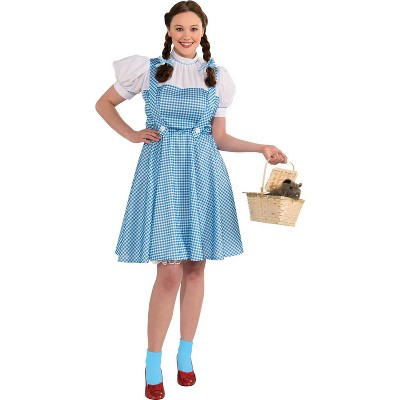 Adult The Wizard of Oz Dorothy Halloween Costume Plus Size (14-16)