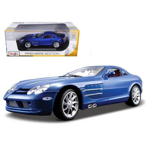 Mercedes Mclaren Slr Blue 1 18 Diecast Model Car By Target