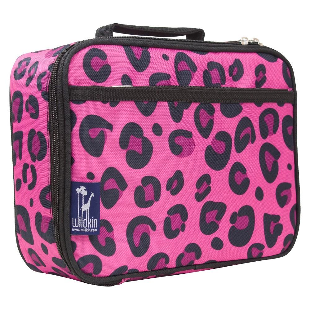Wildkin Leopard Lunch Box - Pink