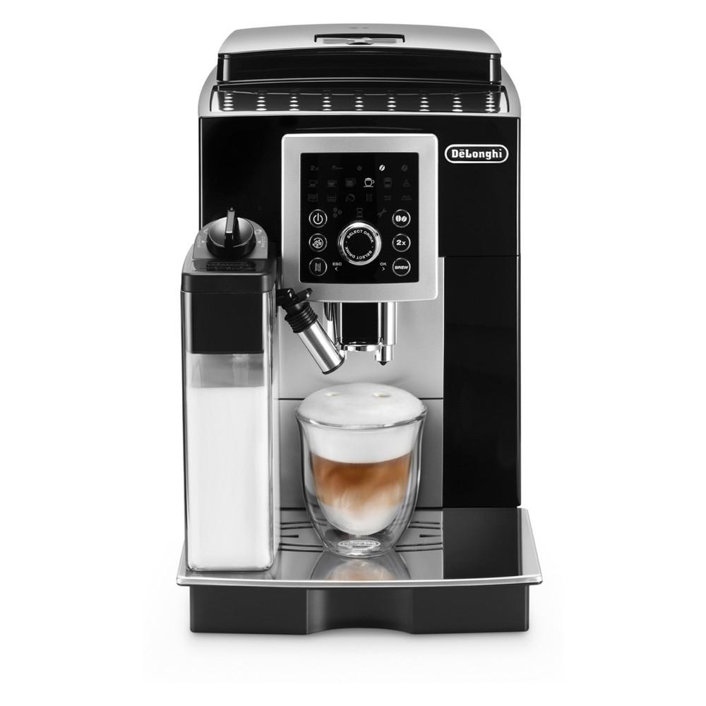 De'Longhi Smart Cappuccino Fully Automatic Coffee/Espresso Machine – Black ECAM23260SB 53162336