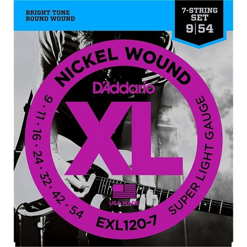 D'Addario EXL120-7 Super Lite 7-String Electric Guitar Strings - image 1 of 4