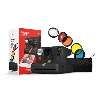 Polaroid Now+ Instant Film Camera - Black