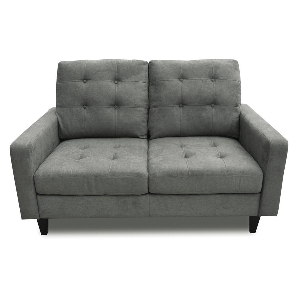 Acme Furniture Nate Loveseat Gray
