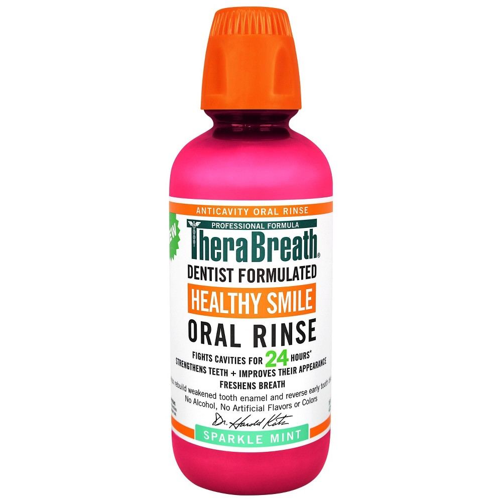 Image of TheraBreath Healthy Smile Oral Rinse Mint - 16 fl oz