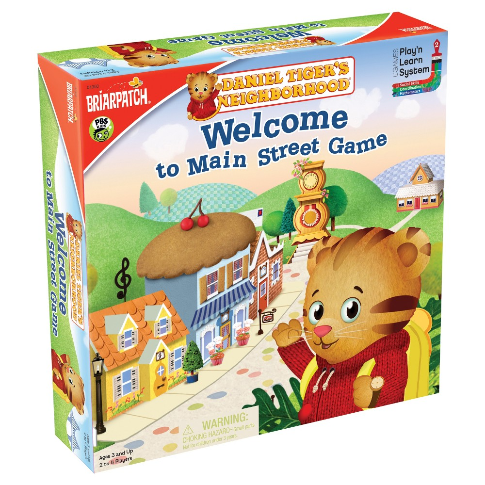 Briarpatch Daniel Tiger's Neighborhood Welcome to Main Street Game