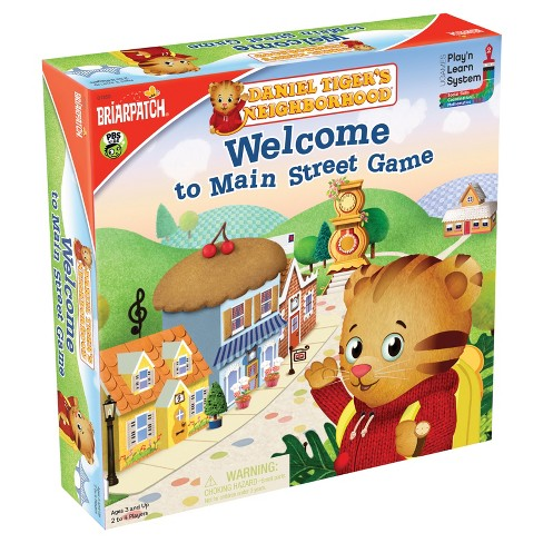 Briarpatch Daniel Tiger's Neighborhood Welcome to Main Street Game - image 1 of 2