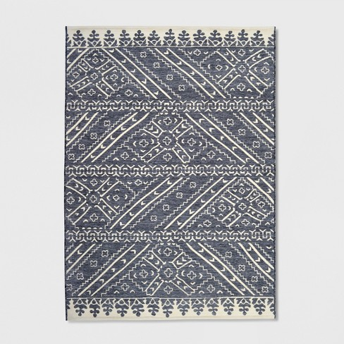Royal Stripe Outdoor Rug - Opalhouse™ - image 1 of 4