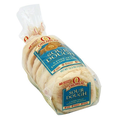 Oroweat Sour Dough English Muffins - 6ct/12.5oz - image 1 of 1
