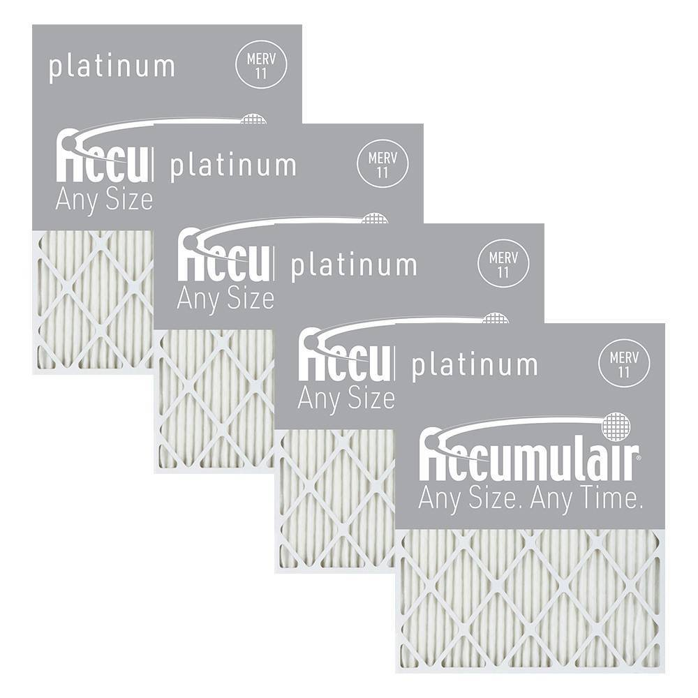 Accumulair 4pk 16 38x21 5x1 Merv 11 Platinum Filters