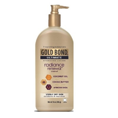 Body Lotions: Gold Bond Radiance Renewal