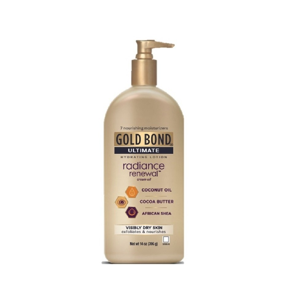 Image of Gold Bond Radiance Renewal Hand And Body Lotions - 14oz