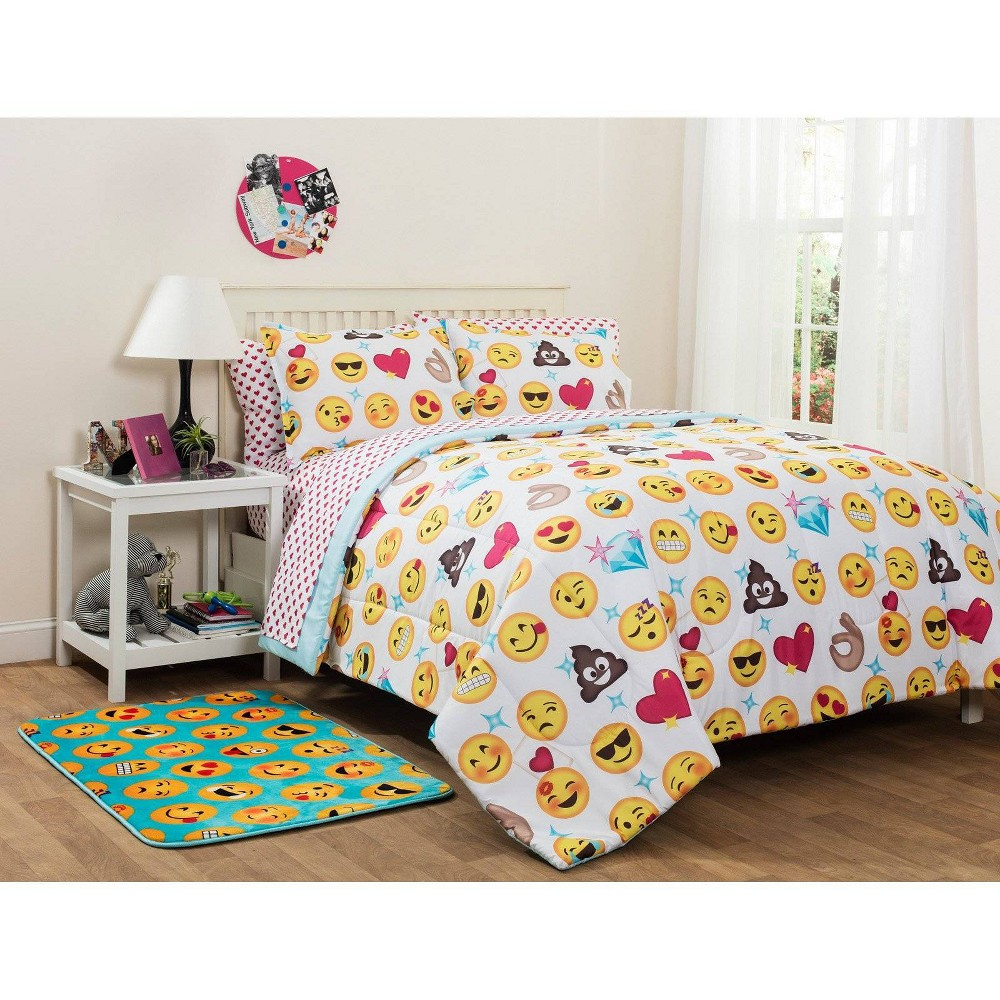 Image of Full Emoji Pals Bed In A Bag - Heritage Club