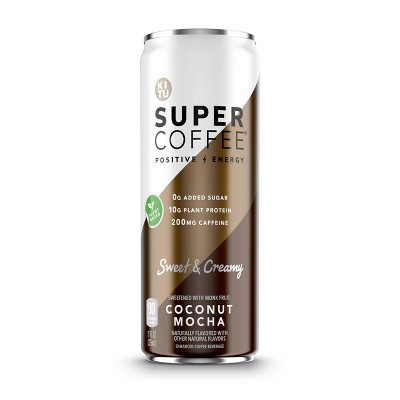 KITU Super Coffee Coconut Mocha - 11 fl oz Bottle