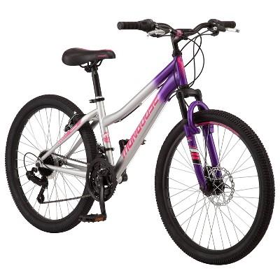 "Mongoose Scepter 24"" Kids' Mountain Bike - Purple"