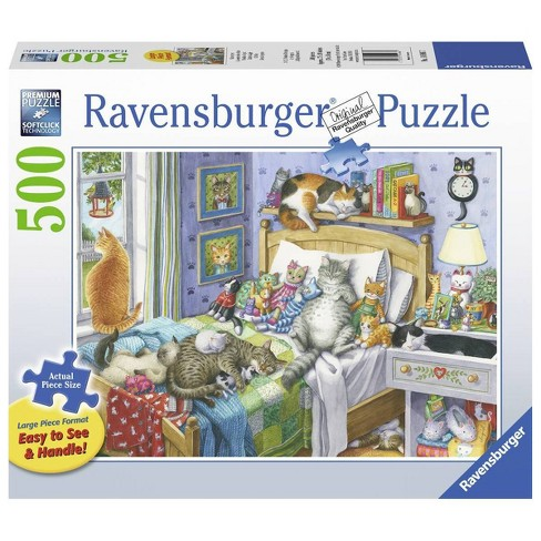 Ravensburger Cat Nap Jigsaw Puzzle - 500pc - image 1 of 2