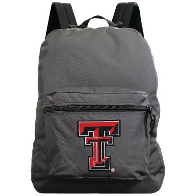 NCAA Texas Tech Red Raiders Gray Premium Backpack