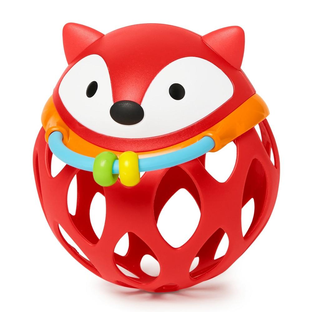 Skip Hop E&m Roll Around Rattle - Fox, Multi-Colored