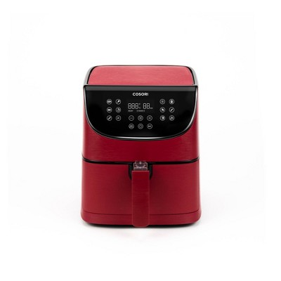 Cosori Pro 3.7qt Air Fryer with Skewer Rack Set - Red