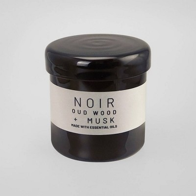 16oz Lidded Glass Jar Candle Noir - Oud Wood & Musk - Project 62™