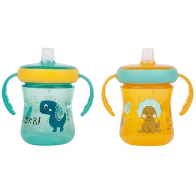 The First Years 2pk Soft Spout Trainer Cup 7oz