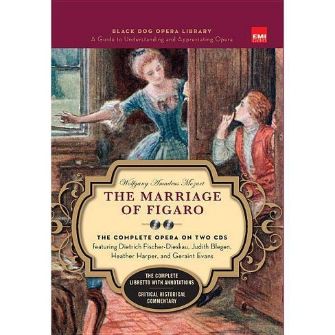 Marriage of Figaro (Book and CD's) - (Black Dog Opera Library) (Mixed media product) - image 1 of 1