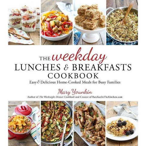 The Weekday Lunches & Breakfasts Cookbook - by  Mary Younkin (Paperback) - image 1 of 1