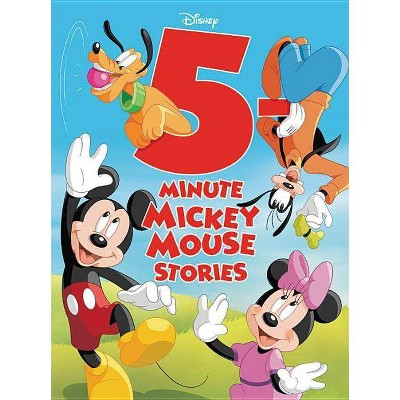 5Minute Mickey Mouse Stories (5 Minute Stories) - by Disney (Hardcover)